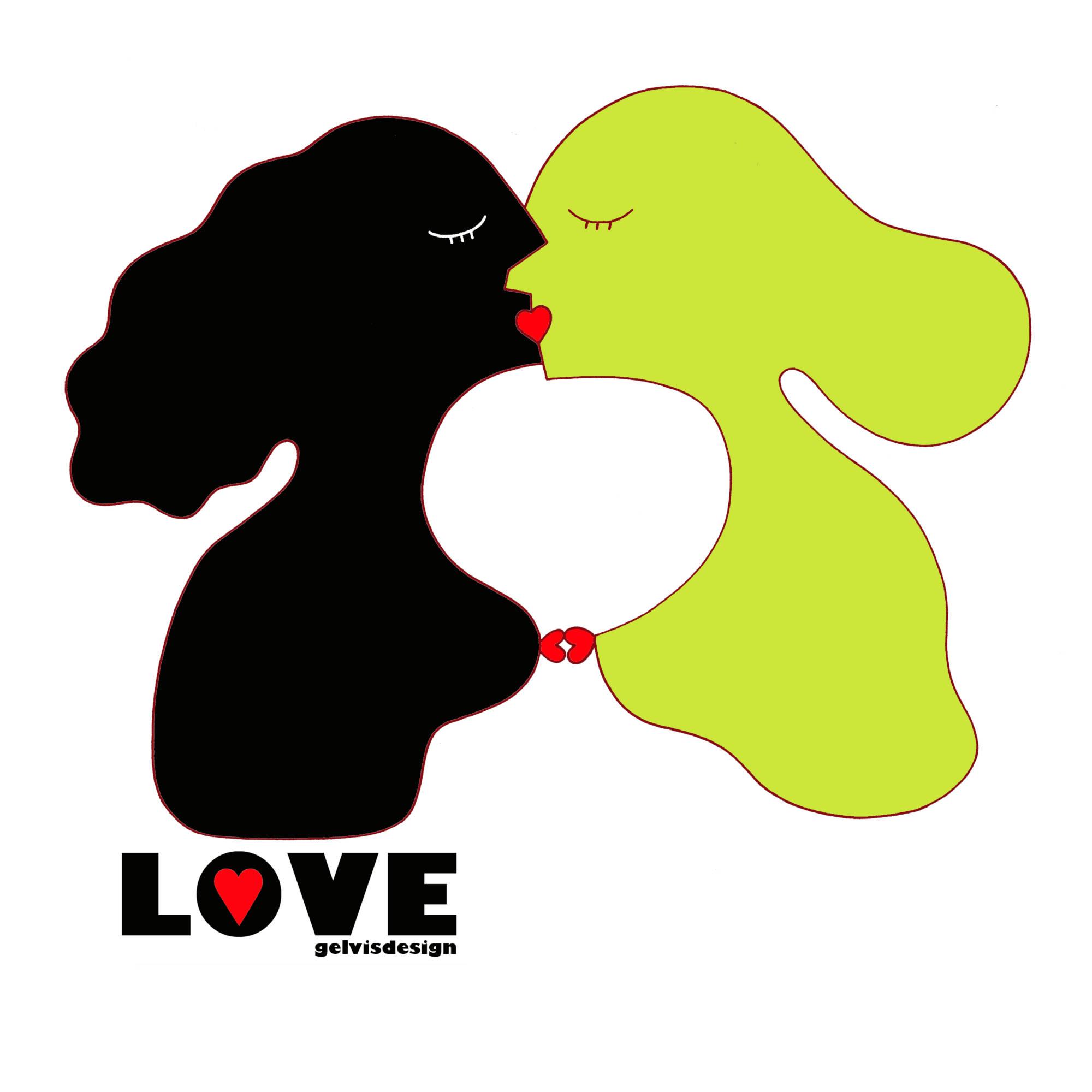 Illustration Love is Fluid