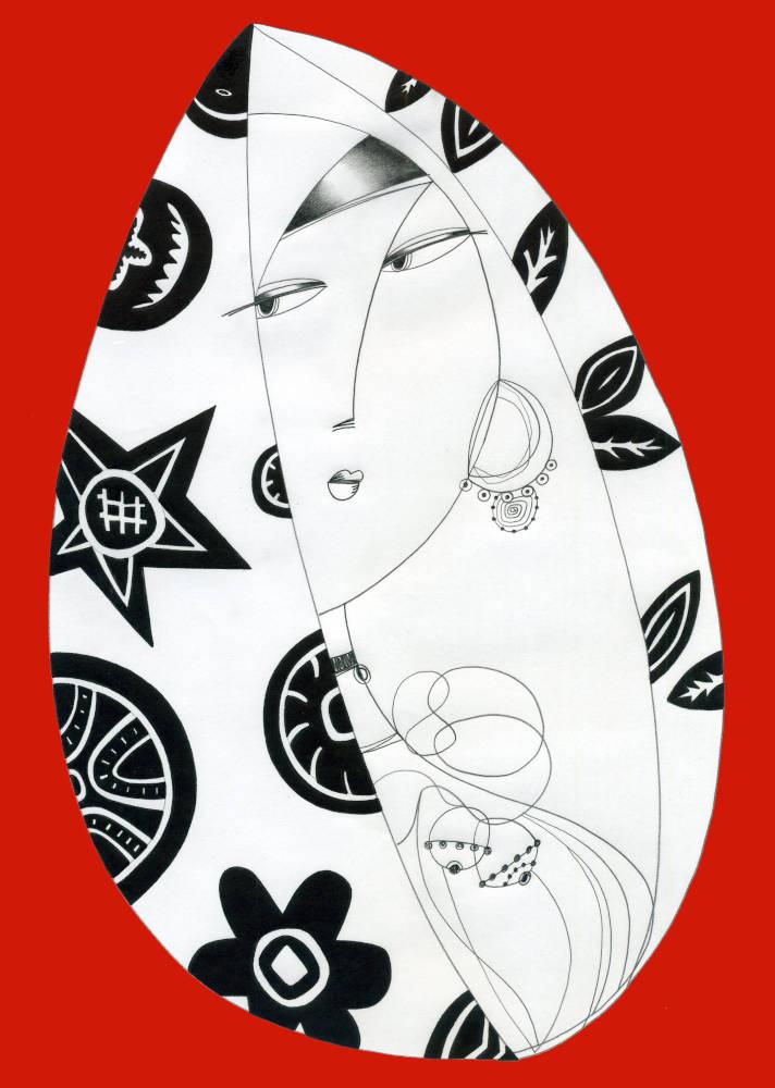 Illustration for Print Tribute to Tavolara