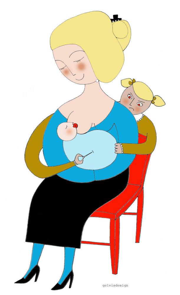 Illustration for Psicologia Contemporanea You Hate Family
