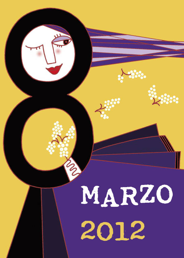 Illustration for women's Day for The Mieleamaro Bookshop