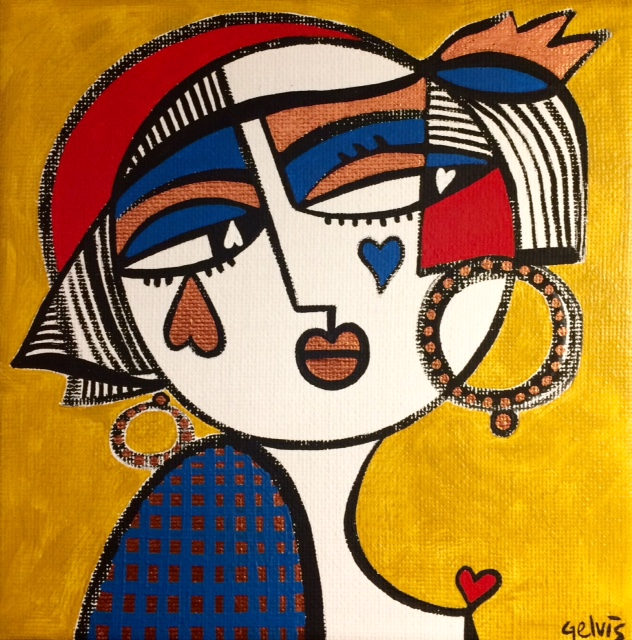 Painting 15×15 cm